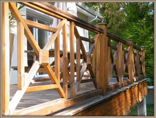 Construction Bois  Piscine Bois  Aménagement Extérieur Bois