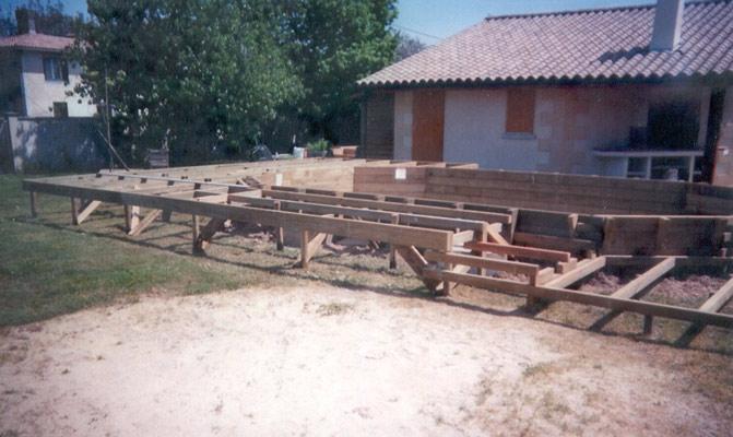 boisylva aquitaine multiservices construction bois piscine bois quelques exemples en gironde. Black Bedroom Furniture Sets. Home Design Ideas