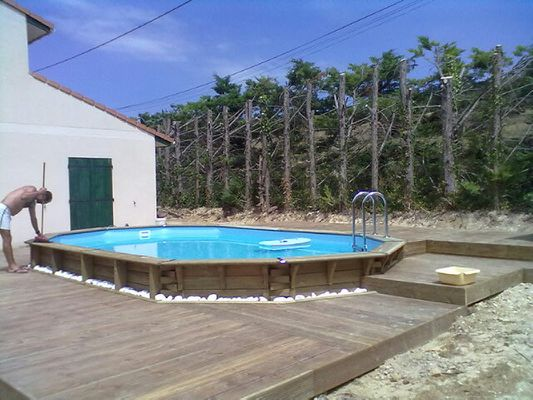 Boisylva aquitaine multiservices construction bois for Piscine bois terrasse