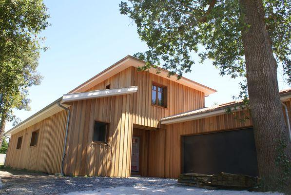 Laurent BLANCHARD, Maisonà Ossature bois Portail des Artisans de Gironde # Maison Ossature Bois Gironde